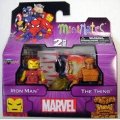 Marvel Minimates Best Of Wave Iron Man & The Thing