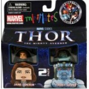 Marvel Minimates Thor Movie Jane Foster & Frost Giant