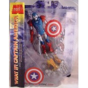 Marvel Select Iron Cap Figure (Steve Rogers in Captain America Iron Man Armor) Action Figure