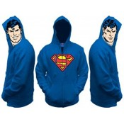 Superman All View Zip Up Hoodie