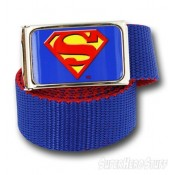 Web Belt - Superman (Blue)