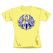 Batgirl Ladies T-Shirt Gotham Girl yellow