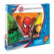 Marvel Heroes 3D Breakthrough Puzzle