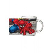 Spiderman Mug Grey Wall