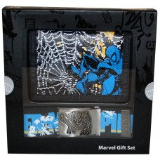 Spiderman Marvel Extreme Wallet and Belt Gift Set