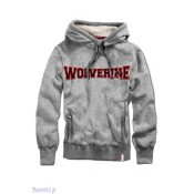 Wolverine Logo Hooded Sweater Marvel Extreme