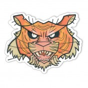 Joe Ledbetter Mouse Pad Tiger Head 25 x 22 cm