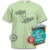 Looney Tunes T-Shirt & Keyring Gift Set Yosemite Sam