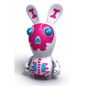 Raving Rabbids Travel in Time PVC Figure Skeleton white