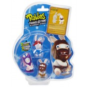 Raving Rabbids Travel in Time Trading Figure 3-Pack C