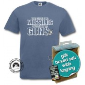 Top Gun Missiles T-shirt and Keyring Gift Set
