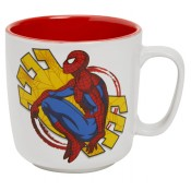 SpiderMan Mega Mug Yellow Web