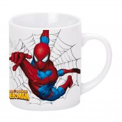 SpiderMan Mug Black Web