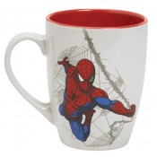 SpiderMan Mug Grey Web