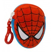 SpiderMan Plush Belt Pocket Face