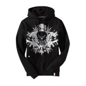 Marvel Extreme Hooded Sweater Punisher Distressed