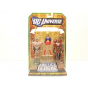 Justice League Unlimited Three-Packs Series 02 - Warlord, Deimos, Supergirl 3-Pack