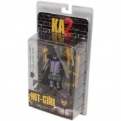 "KICK ASS 2 Series 1 Masked Hit Girl + accessories 7"" Action Figure"
