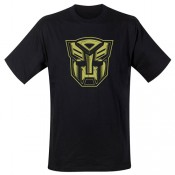 Transformers T-shirt - Autobot Shield Logo Gold