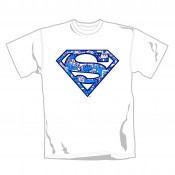 Superman T-shirt  - Comic Blue