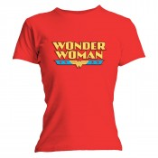 Wonder Woman T-shirt - Wonder Woman Logo