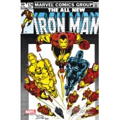 Marvel Comics Steel Covers Metal Plate Iron Man #174 42 x 65 cm Limited Edition