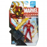 "Iron Spiderman 2013 marvel universe 3.75"" action figure"