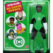 DC Super Heroes Retro Action Green Lantern John Stewart Action Figure