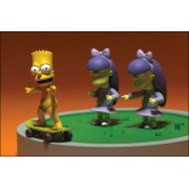 Bart Sherri and Terri Doodle Double Dare Boxed Set The Simpsons Movie