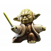 Star Wars Collectibles Ceramic Figure May the Force Be with You Fighting Yoda