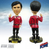 Star Trek II The Wrath of Khan Bobble-Head Chekov 18 cm