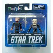 Star Trek Legacy Minimates Series 1 Captain Picard & Borg Queen (First Contact)