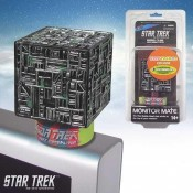 Star Trek TNG Monitor Mate Bobble-Figure Borg Cube Toy Fair Exclusive 8 cm