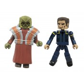 Star Trek Legacy Minimates Series 1 Captain Archer & Xindi (Enterprise)