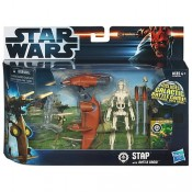 Star Wars Class I Vehicles with Figures STAP with Battle Droid Episode I