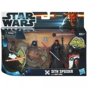 Star Wars Class I Vehicles with Figures Sith Speeder with Darth Maul Episode I