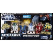 Discover The Force 3D: Star Wars Episode 1 3d Royal Starship Droids Battlepacks