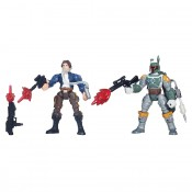 Star Wars Hero Mashers Battle Pack Han Solo Boba Fett Action Figures