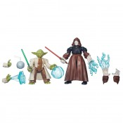 Star Wars Hero Mashers Battle Pack Yoda vs Emperor Palpatine Figures