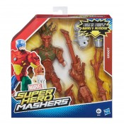 Groot Battle Upgrade Super Hero Mashers Action Figure