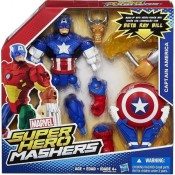 Captain America Battle Upgrade Super Hero Mashers Action Figure