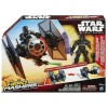Star Wars Hero Mashers Vehicle FIRST ORDER SPECIAL FORCES TIE FIGHTER & PILOT