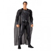 Man of Steel Giant Size Action Figure Black Suited Superman