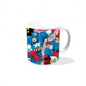 Captain America & Bucky VS The Red Skull - Mug