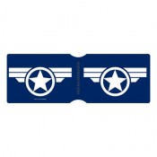 Captain America Super Soldier Logo - Travel Pass