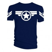Captain America T-Shirt - Super Soldier Uniform