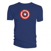 Captain America T-Shirt - Shield Distressed