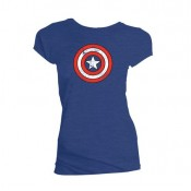 Captain America T-Shirt - Shield Logo