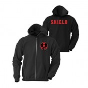 Marvel Zipped Hooded Sweater Agent of S.H.I.E.L.D. Logo