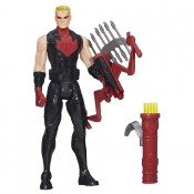 Avengers Titan Hero Light Up Battle Hawkeye Action Figure